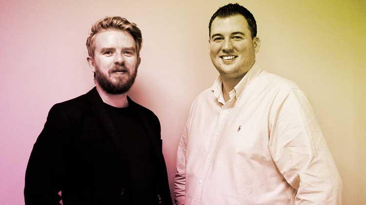 From left - Dr Calum Forsyth, CEO & Robin Knox, Chairman