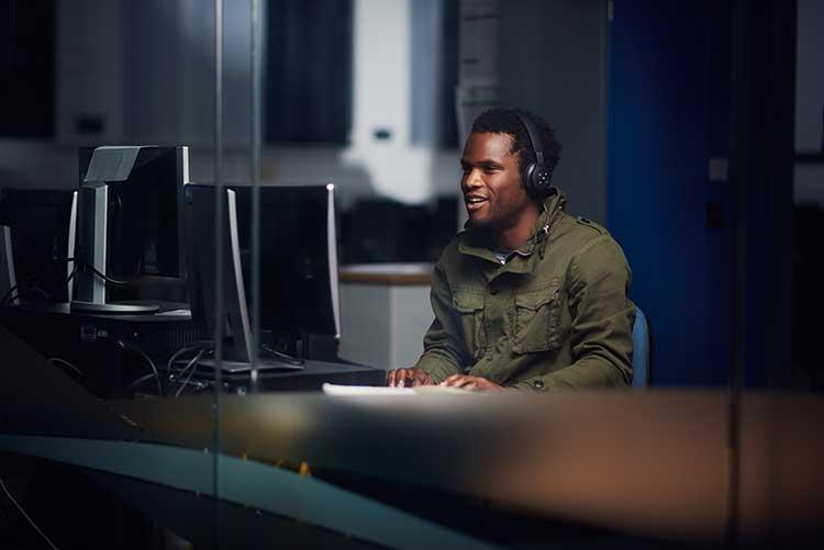 Abertay University Ethical Hacking student
