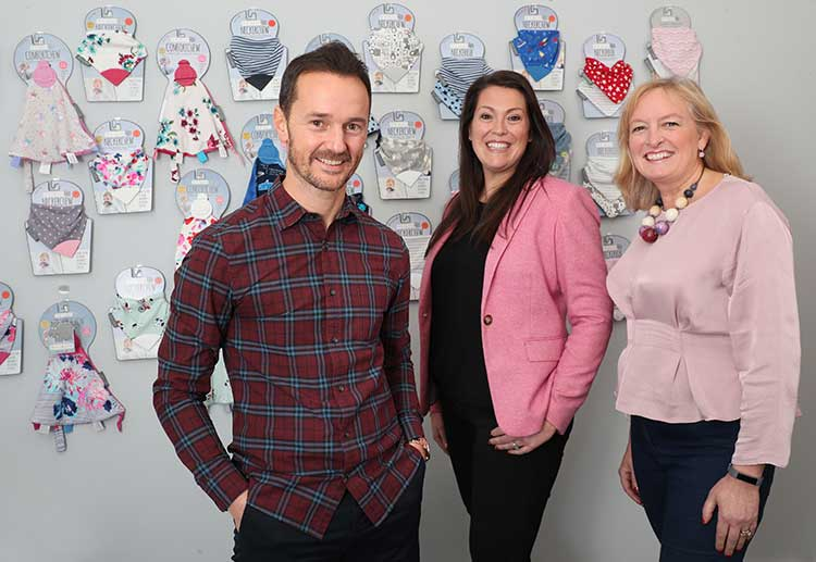 From left - Mike Welch, Amy Livingstone and Julie Wilson (by Stewart Attwood)