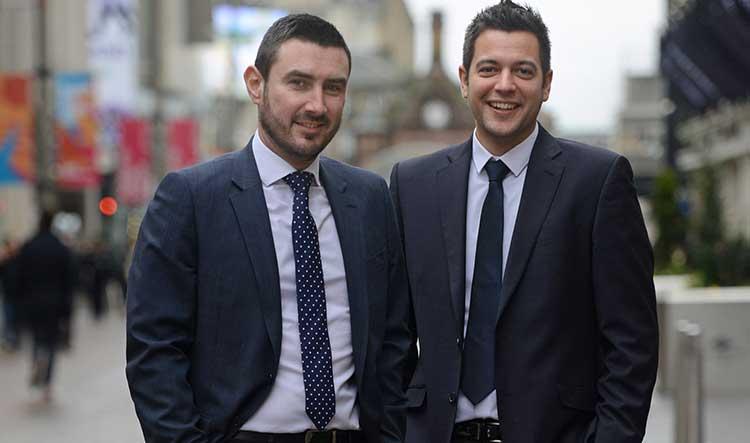 Andrew Morton and Craig Bryce