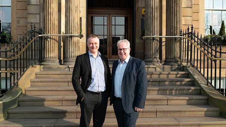 Directors of Kelvin Capital - John McNicol (L) and Angus Hay (R) 2