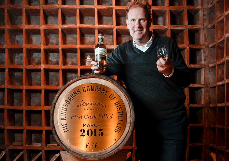 William Wemyss, MD of Wemyss Vintage Malts and Kingsbarns Distillery