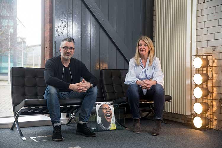 From left Stephen McCranor and Keli Mitchell
