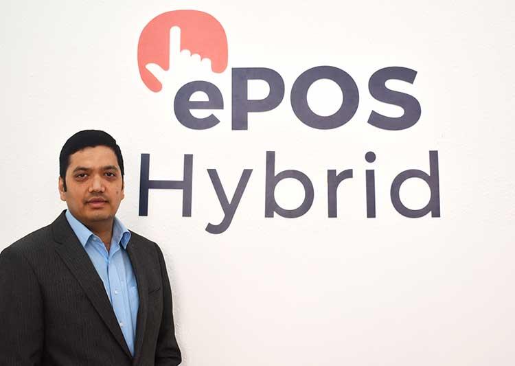 Bhas Kalangi, Founder and CEO of ePOS Hybrid