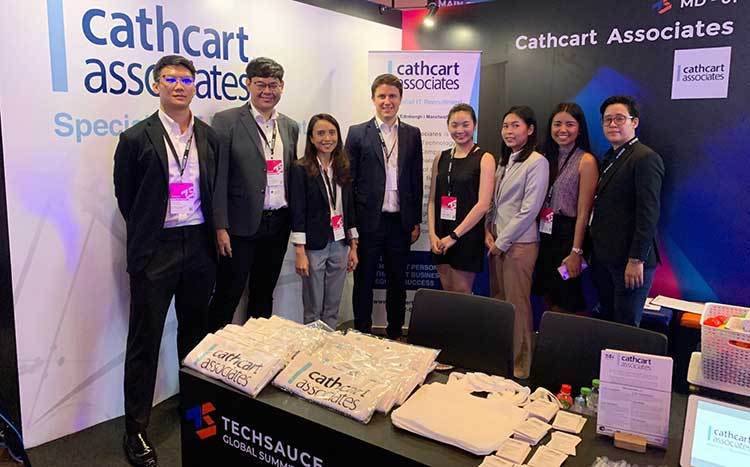 The Cathcart team with Nick Macdougall fourth from the left