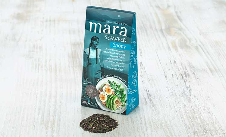 Mara Seaweed. Photograph by Angus Bremner©