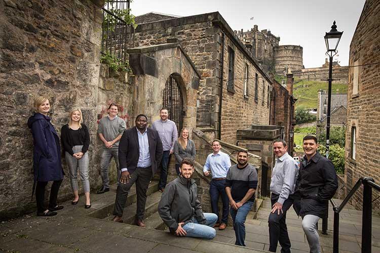 The Royal Society of Edinburgh's Unlocking Ambition Enterprise Fellowship cohort of 2019
