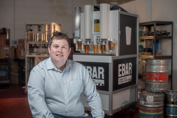 Sam Pettipher, co-founder and managing director at EBar